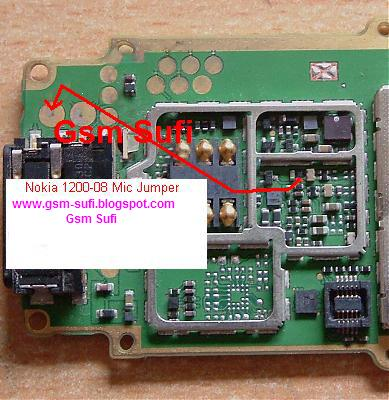 Nokia 1200, 1208, 1209, 1650 Mic Solution 1000%
